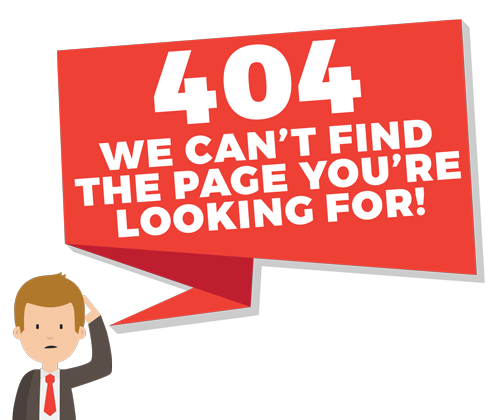 404 We Can't Find the Page You're Looking For